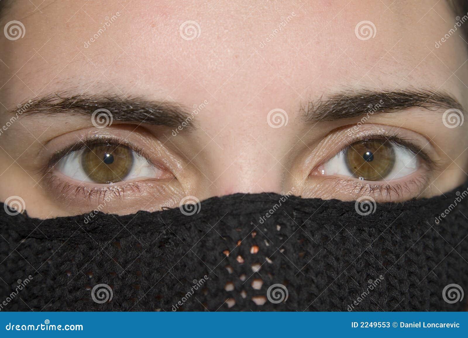 Ojos Femeninos Hermosos Imagen De Archivo. Imagen De