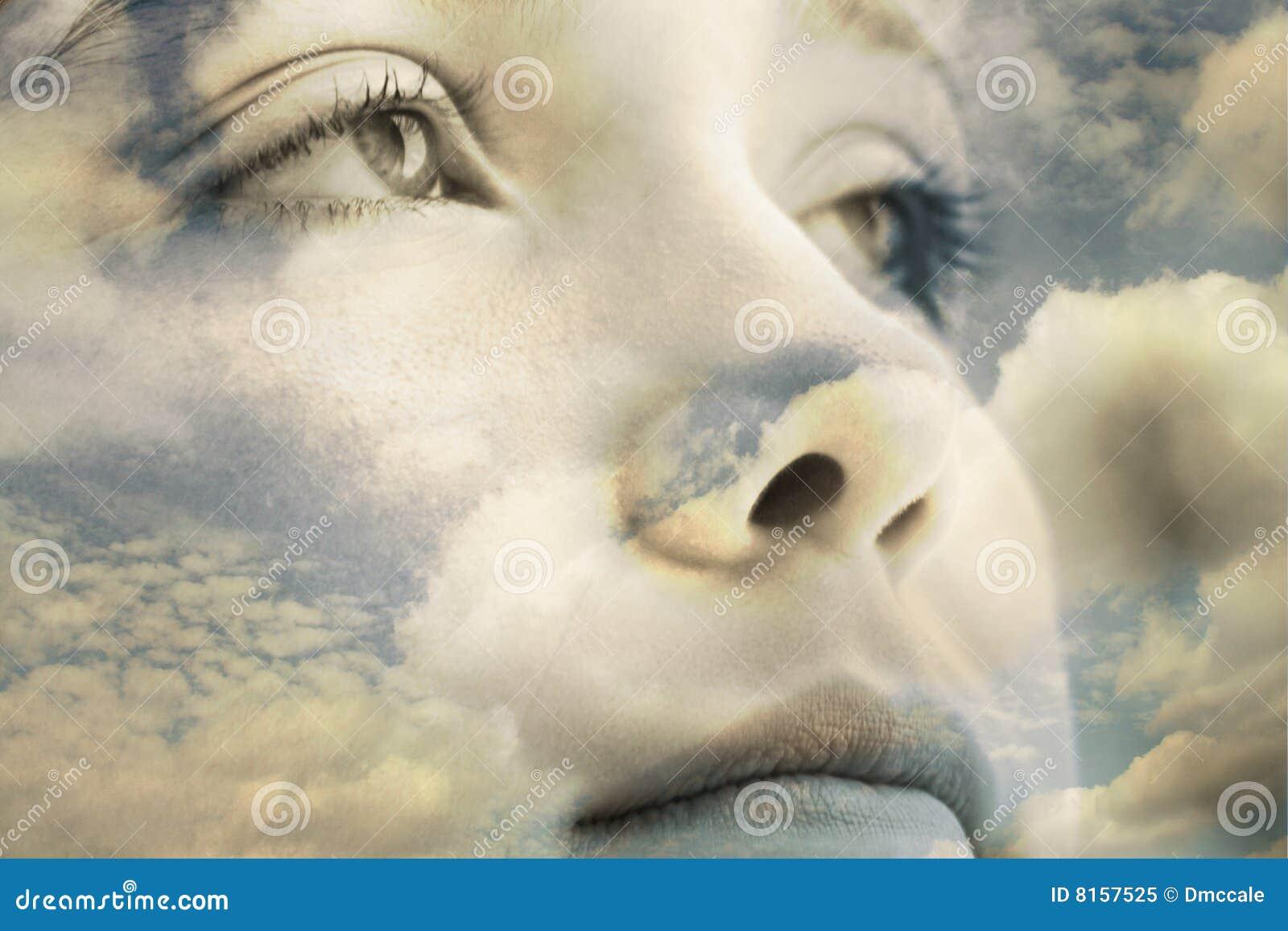 Ojos salvajes en cielo