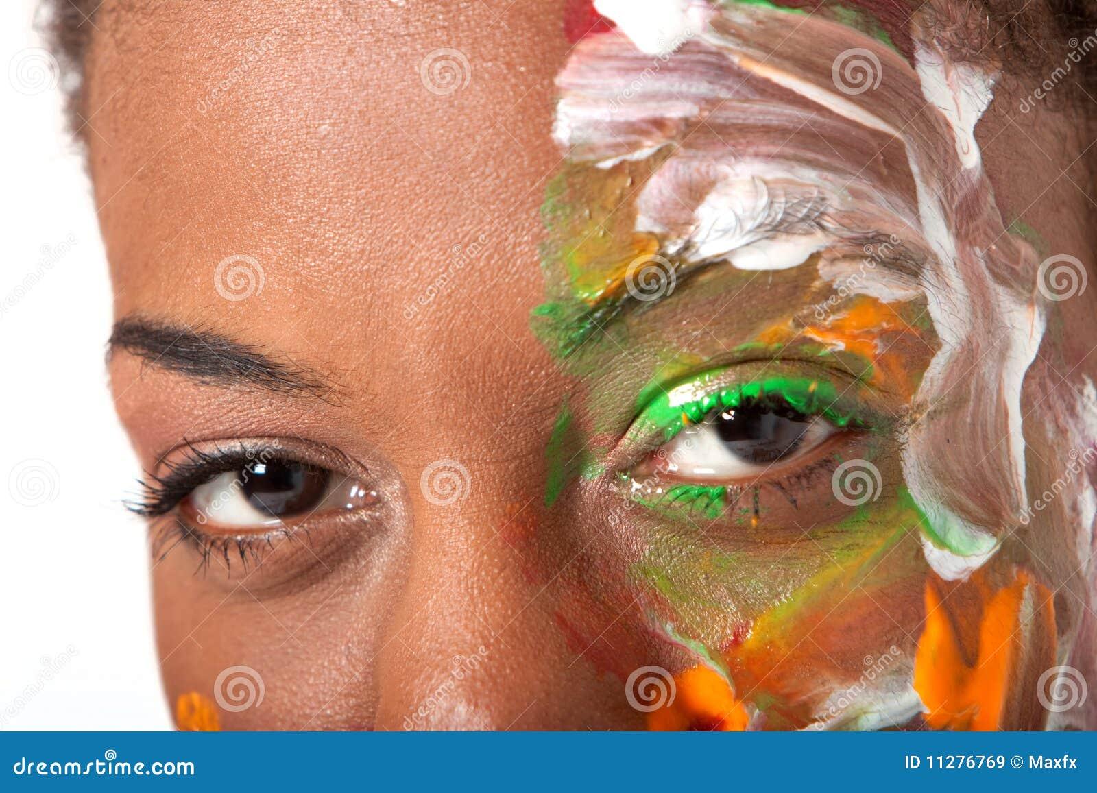 Ojos y facepaint