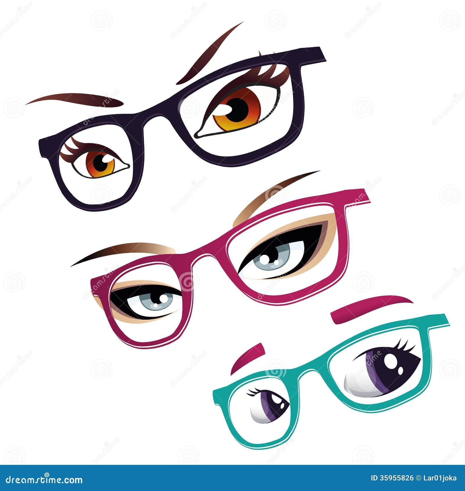 Ojos y vidrios