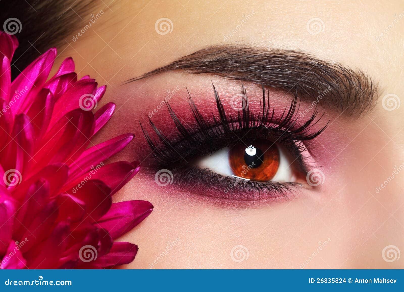 Oka piękny Makeup