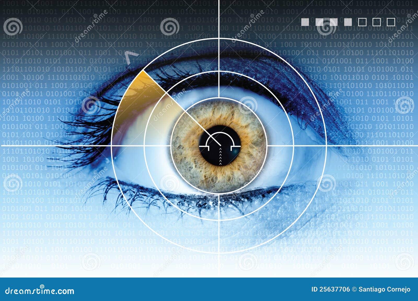 Oka radarowa obraz cyfrowy technologia