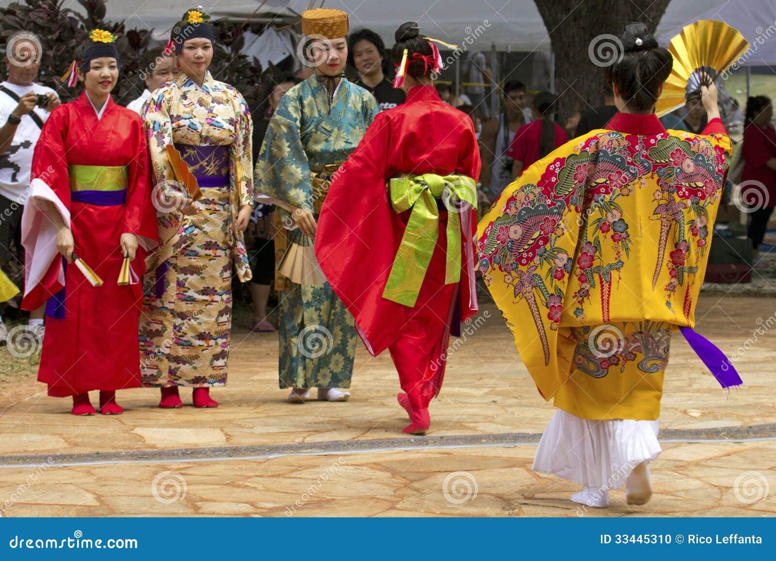 Okinawan del kimono