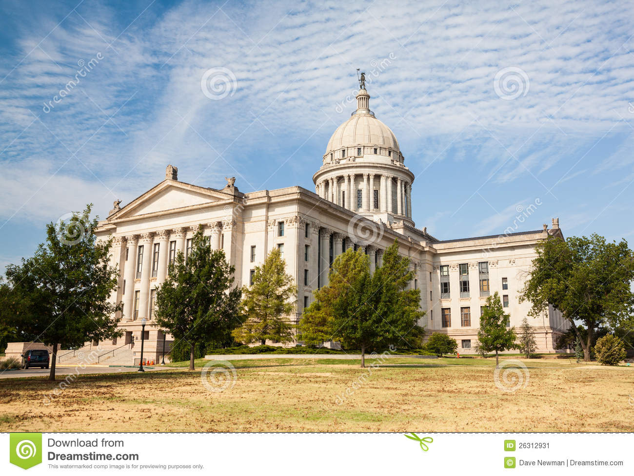 Oklahoma state house and capitol building stock image for Building a house in oklahoma