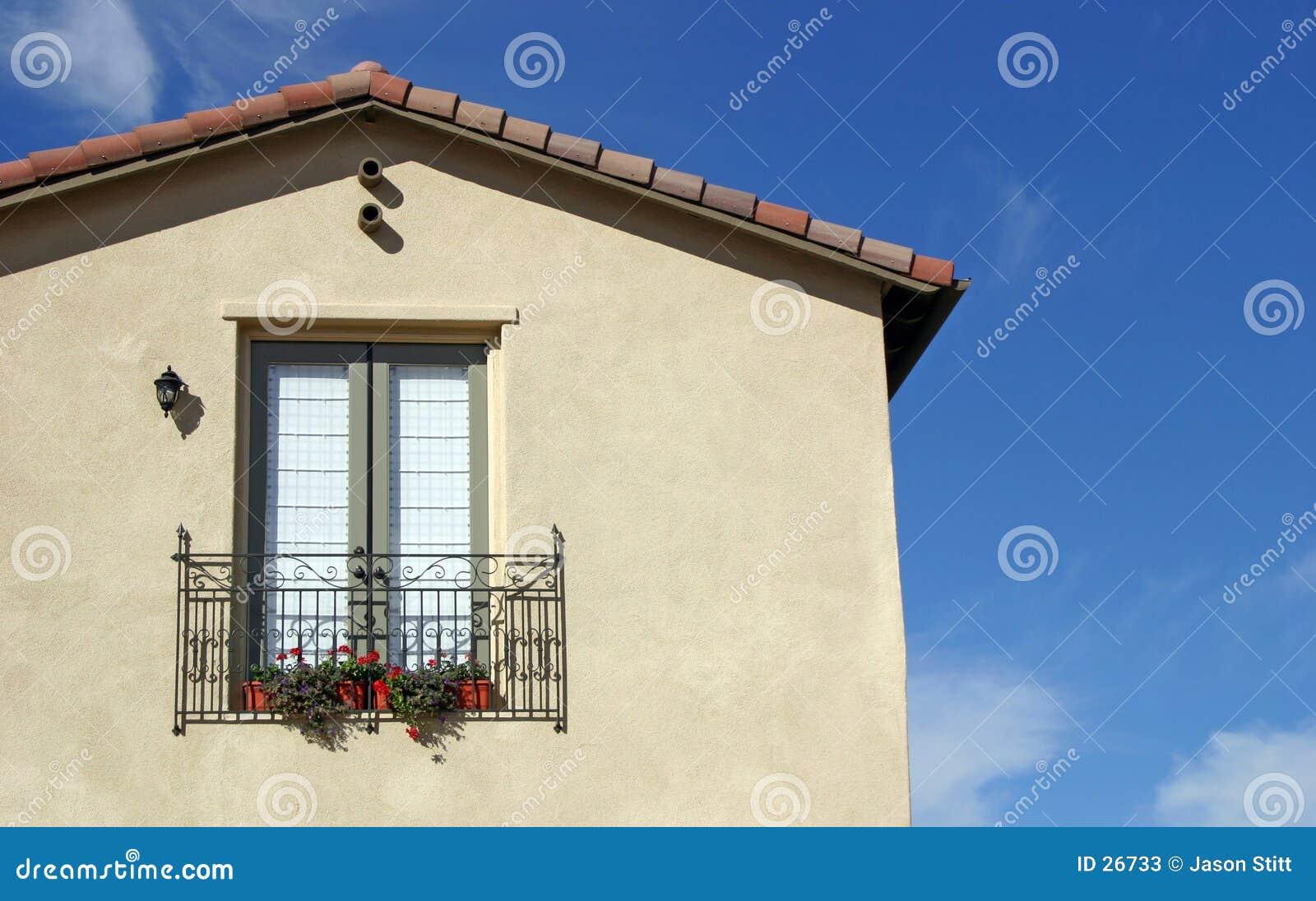 Okno ogrodu