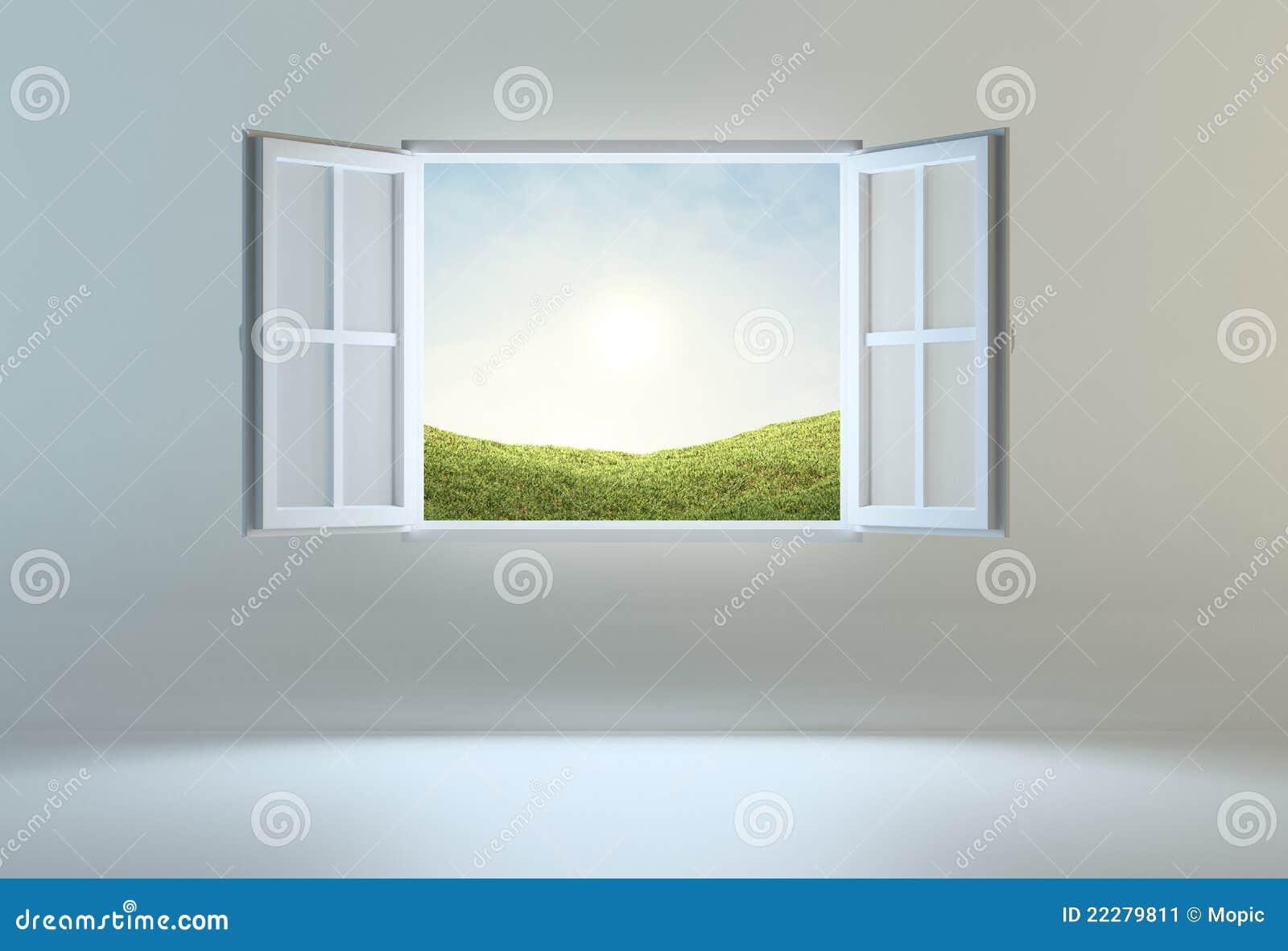 Okno wiodący otwierają miejsce okno
