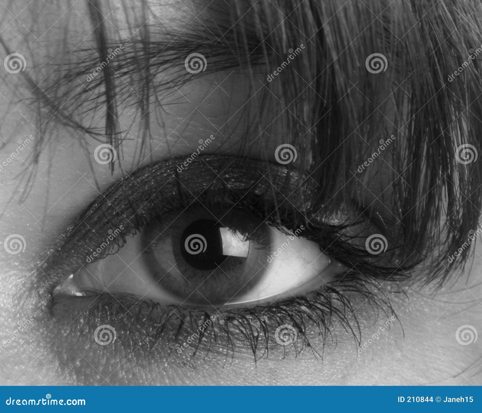 Oko jest kobieta