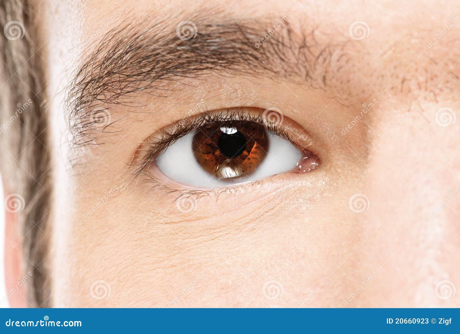 Oko mężczyzna s