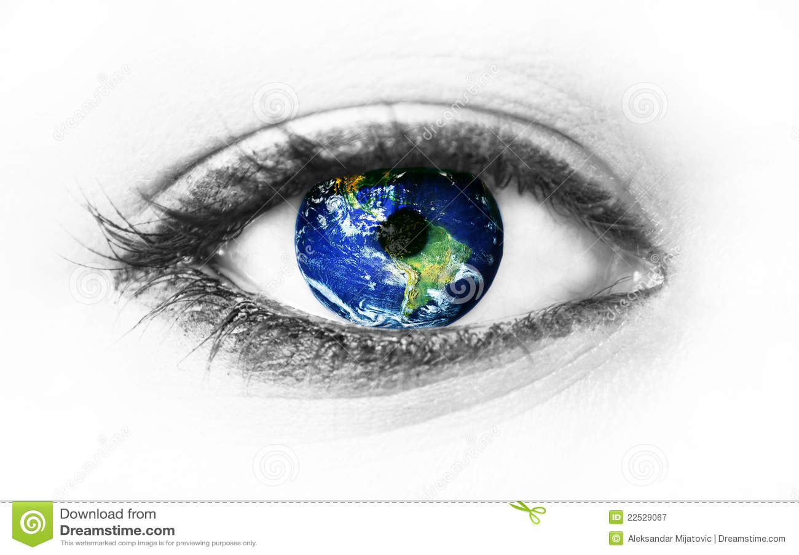 Oko ziemska planeta