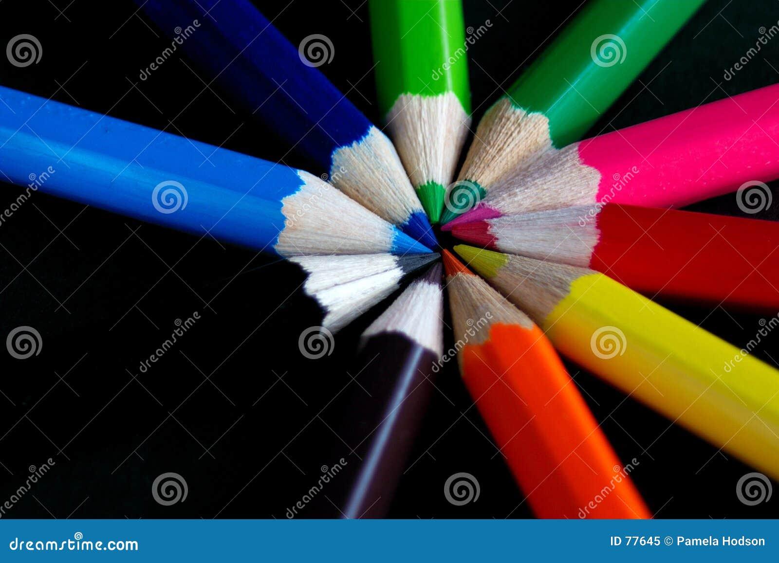 Okręgu kolor