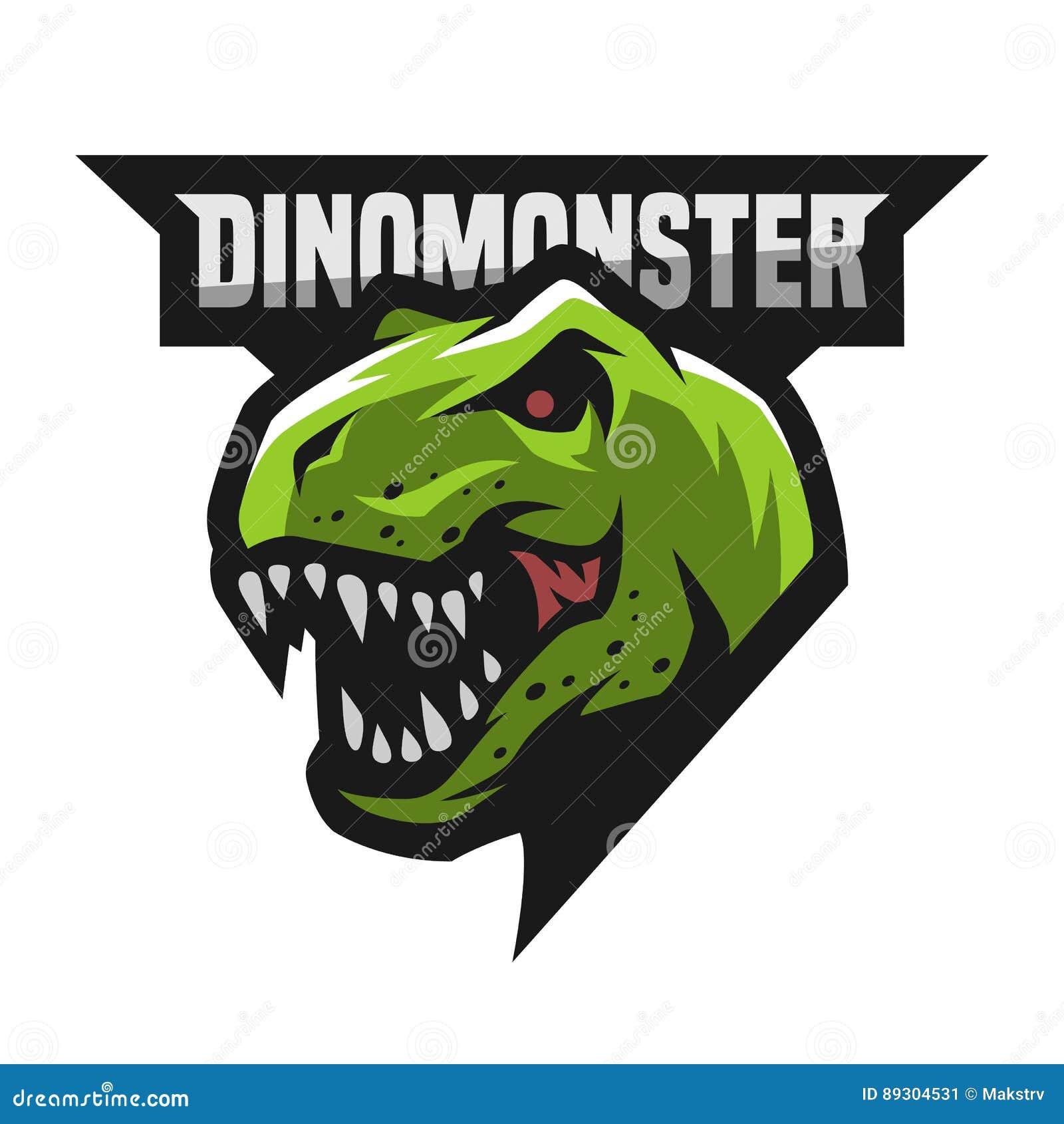 Okrutnie dinosaura logo