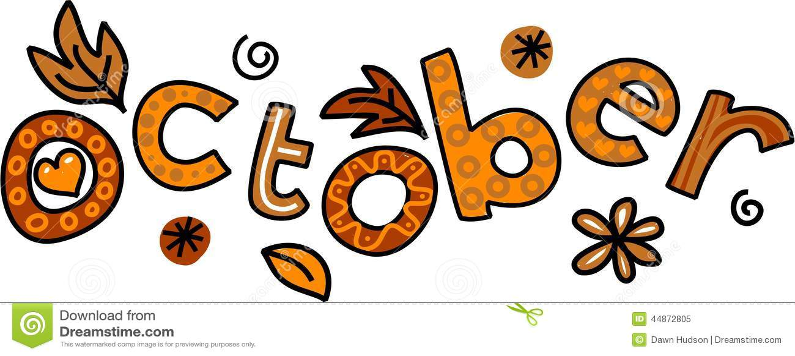 oktober clipart stock abbildung bild 44872805 october clip art images october clip art for free