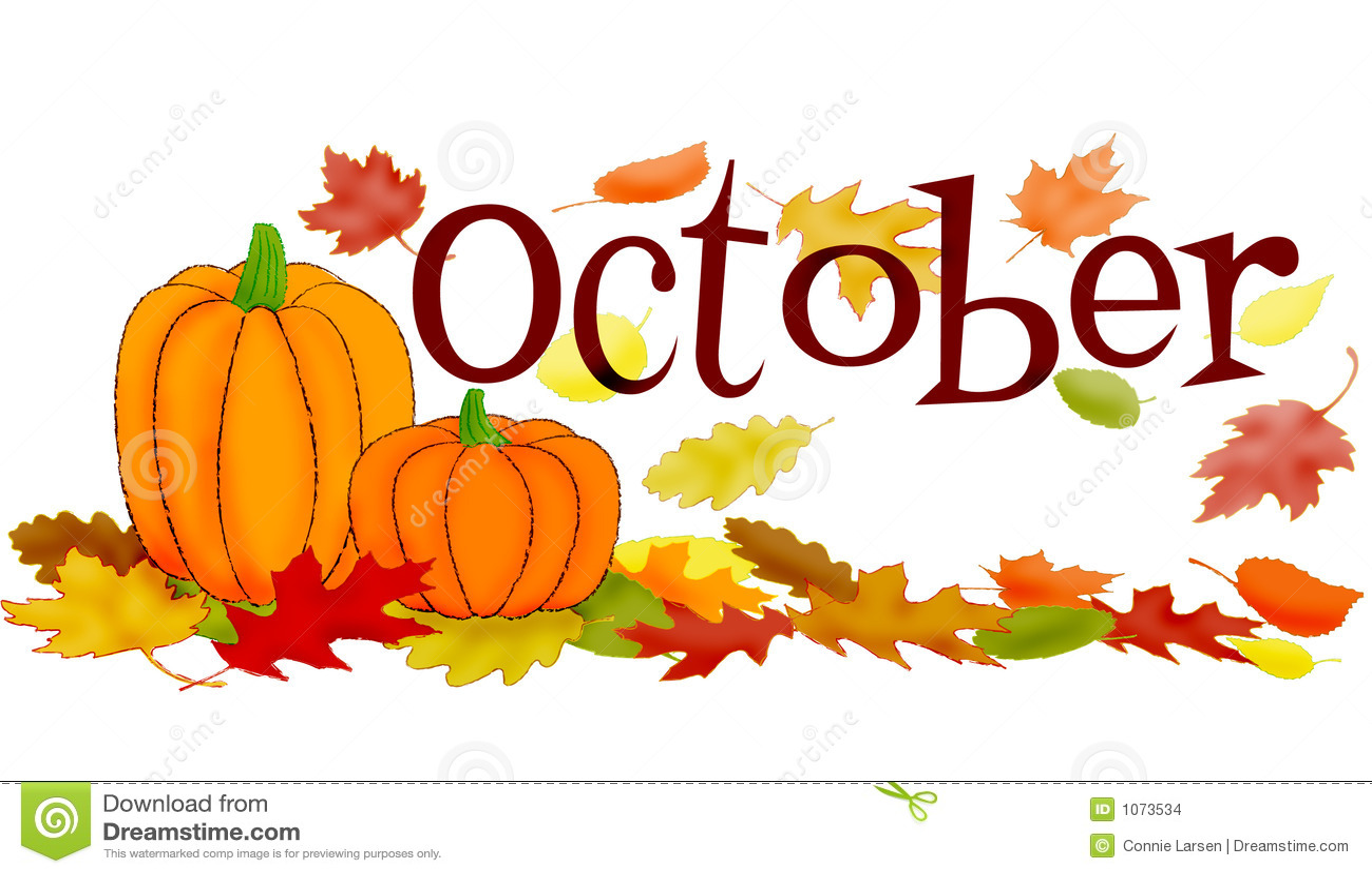 Oktober-Szene