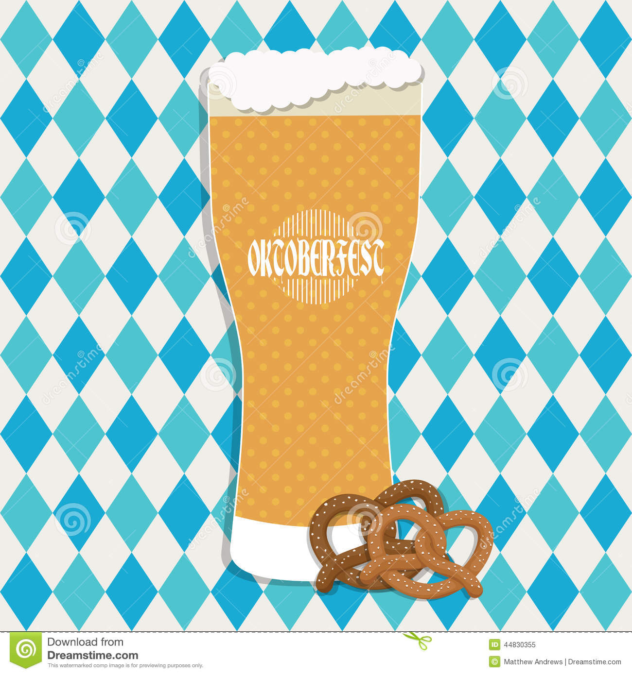 with oktoberfest decoration with glass of beer and pretzels with 1300 x 1390 219 kb - Oktoberfest Decorations