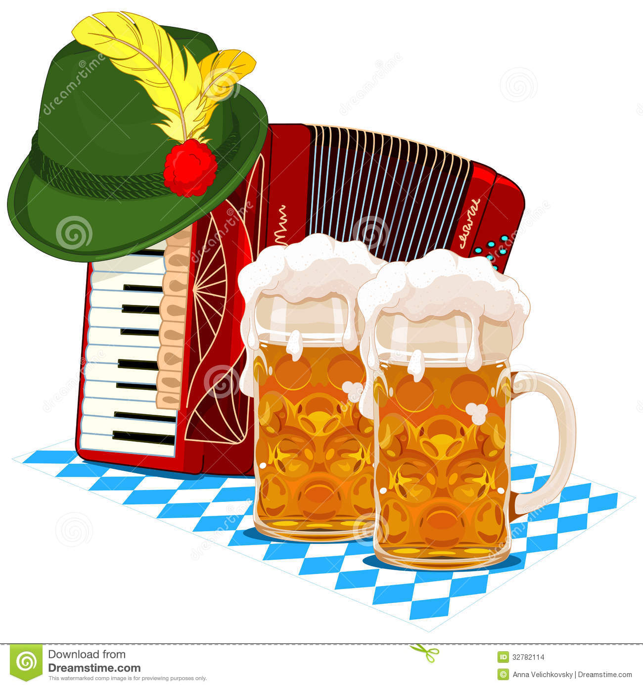 oktoberfest design stock vector illustration of clipart 32782114 rh dreamstime com oktoberfest clip art vector oktoberfest clip art free downloads