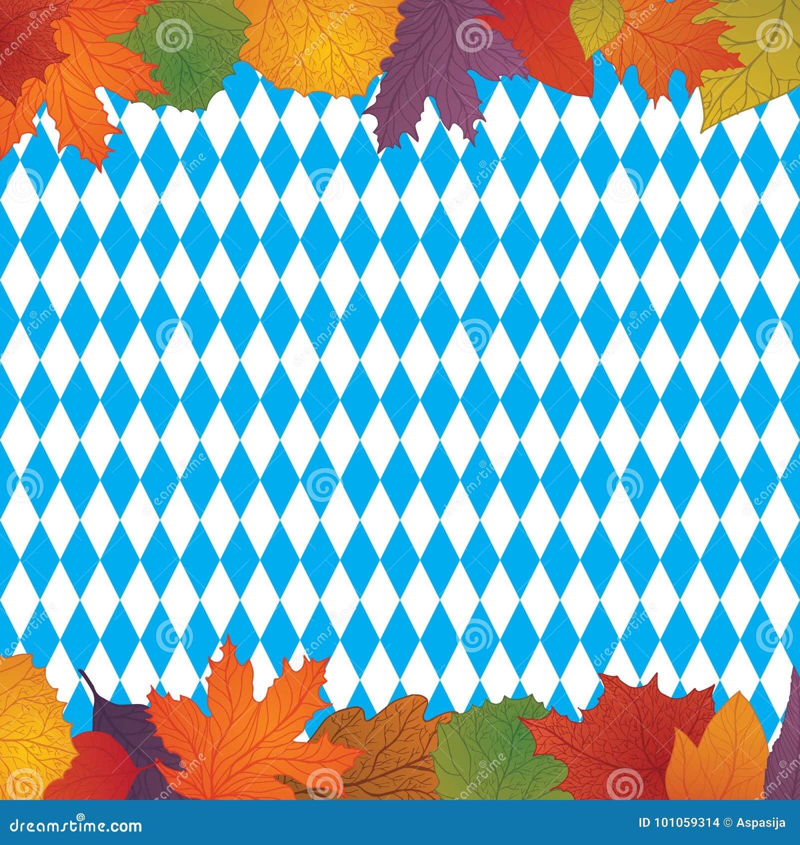 Oktoberfest design autumn stock vector. Illustration of ...