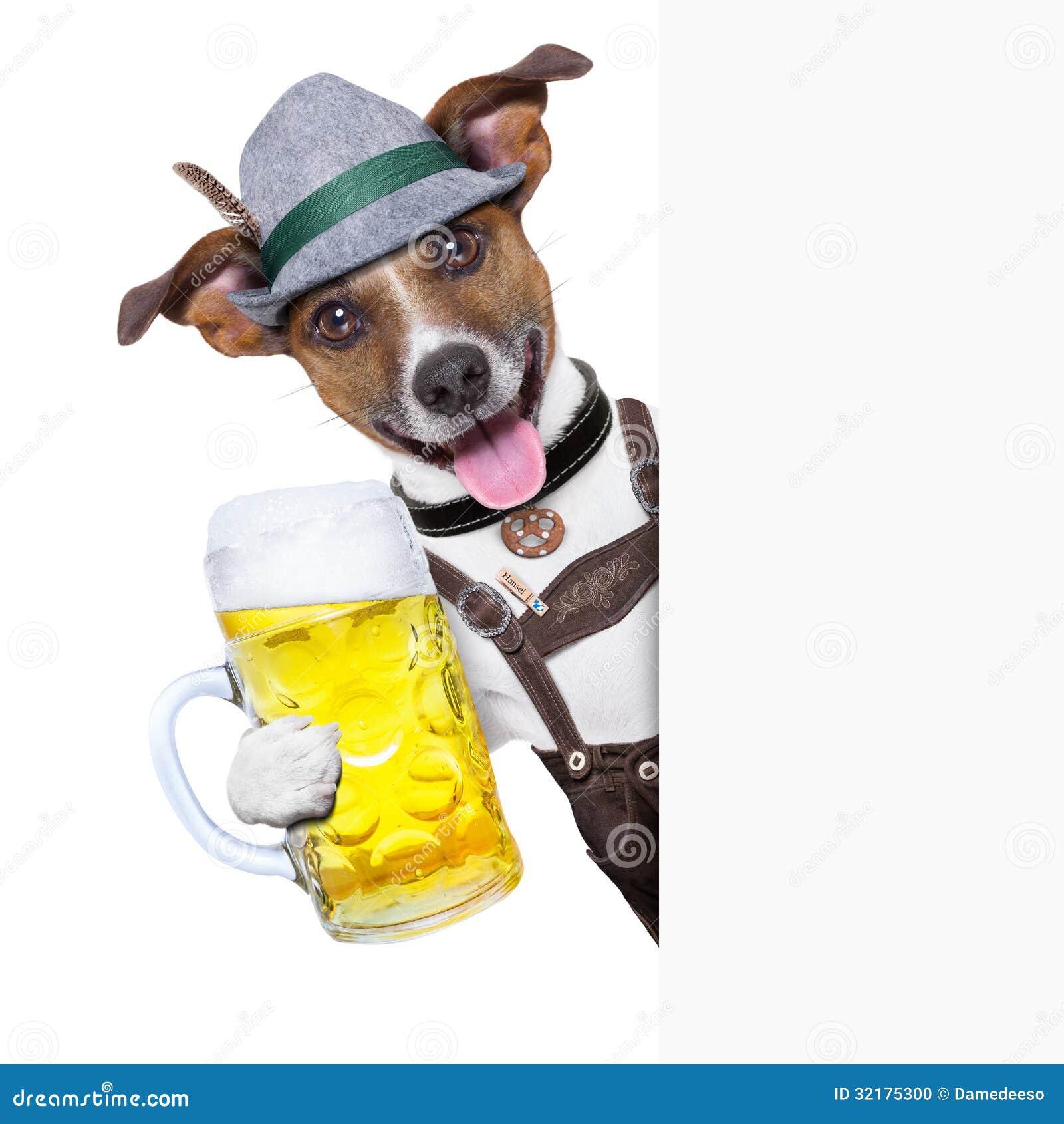 Oktoberfest-Hund
