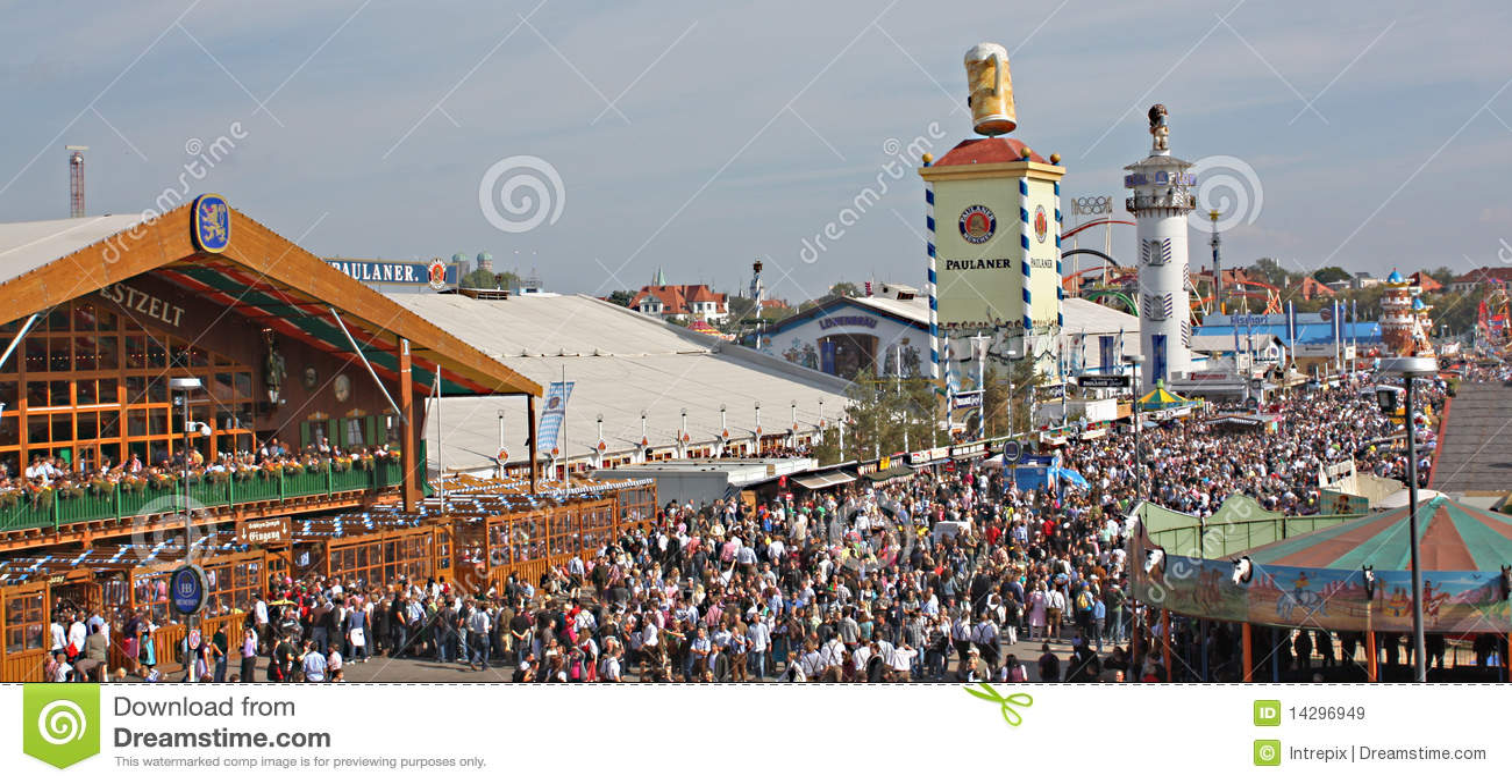 Oktoberfest Landschaft