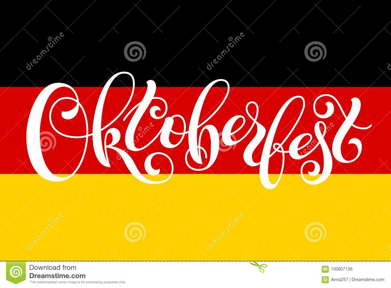 Oktoberfest letterin on germany flag template for a business card download oktoberfest letterin on germany flag template for a business card banner poster reheart Images
