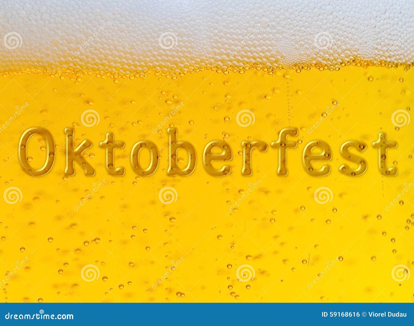 Oktoberfest piwa festiwal