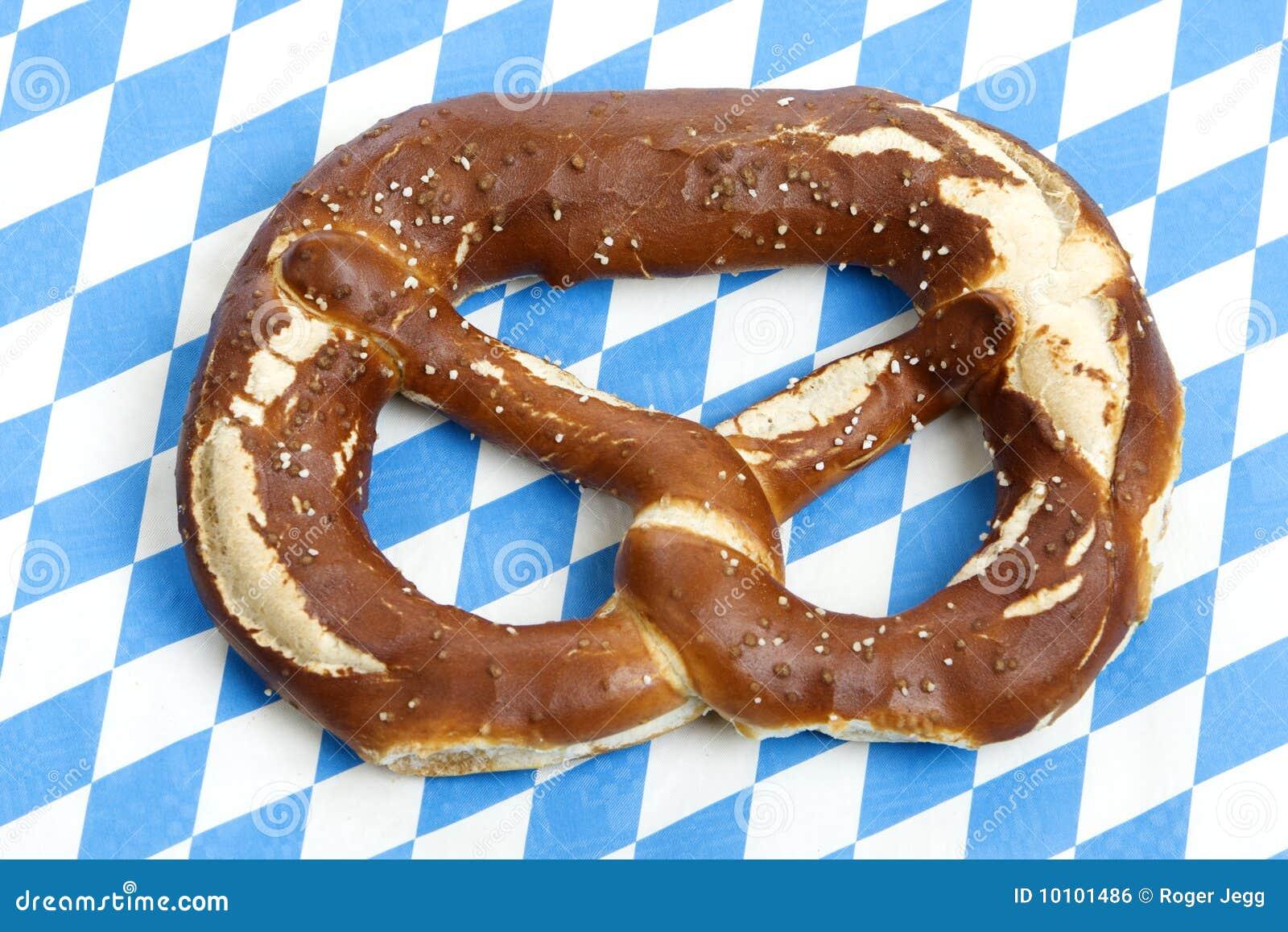 Oktoberfest Pretzel Royalty Free Stock Image - Image: 10101486
