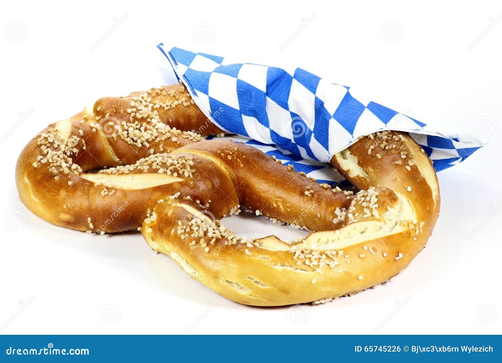 Oktoberfest Pretzel Stock Photo - Image: 65745226
