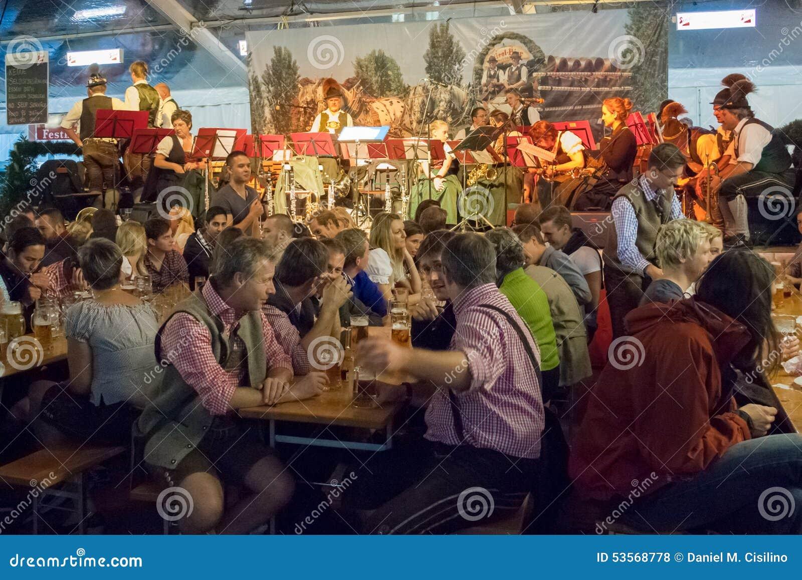 Oktoberfest. Salzburg. Austria