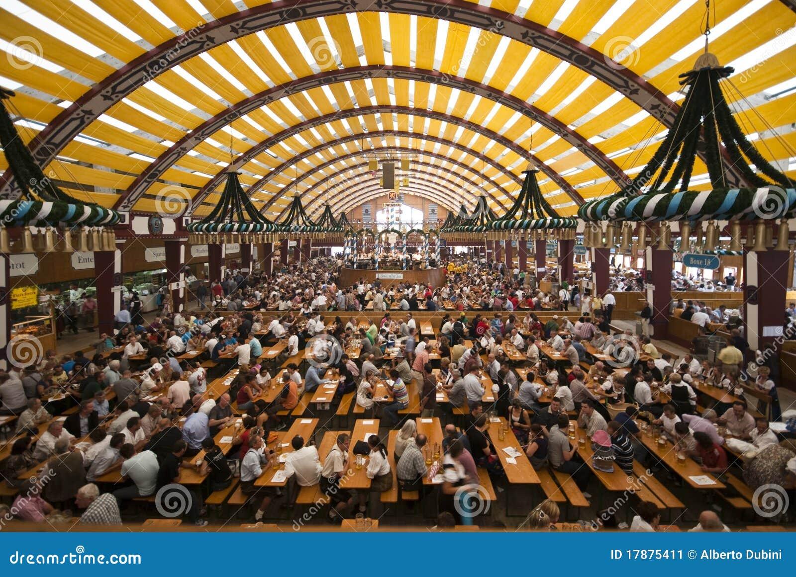 Oktoberfest Tent Editorial Photo Image 17875411