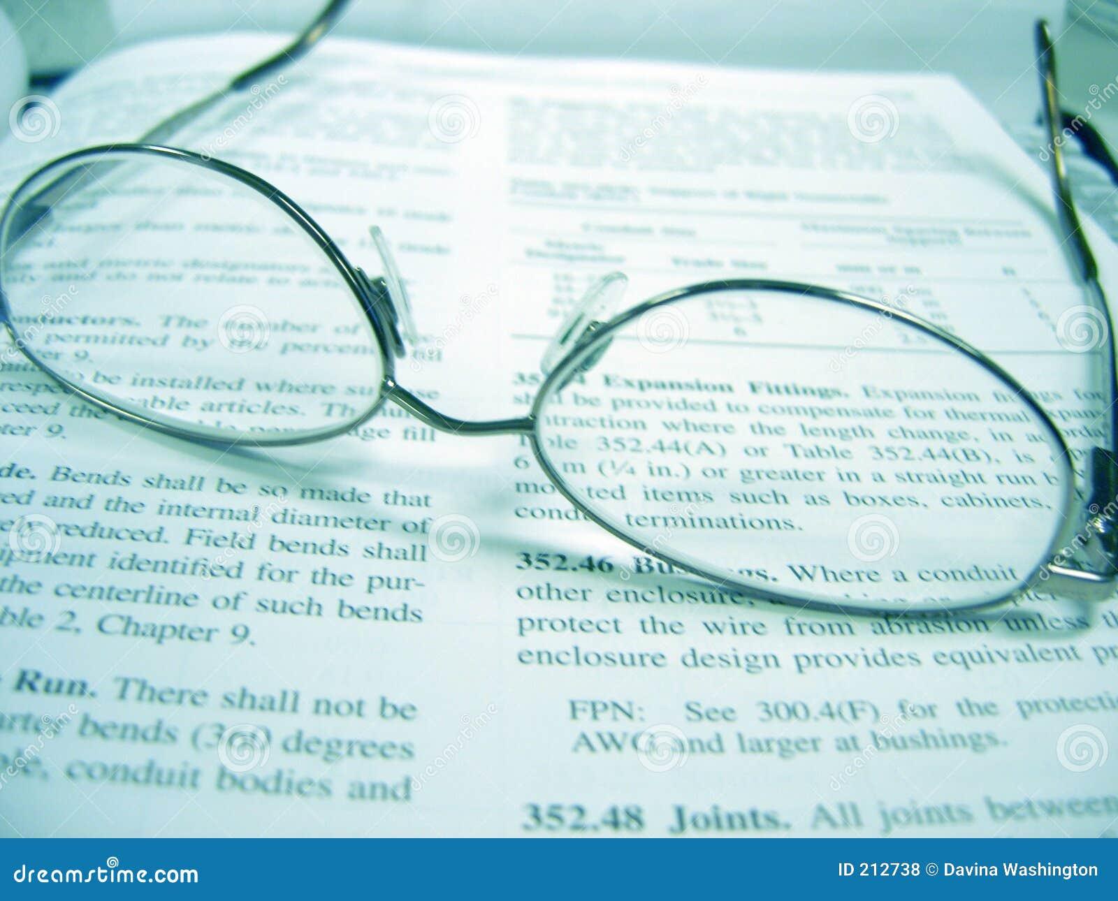 Okulary książkowi