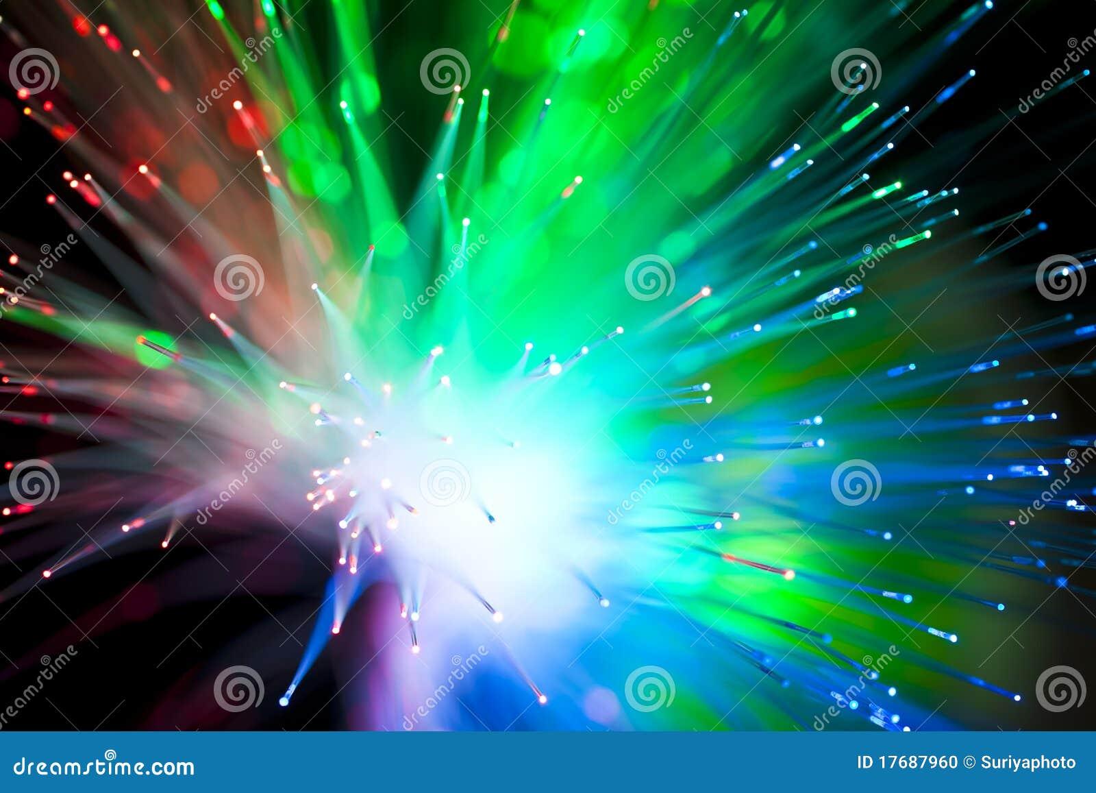 Okulistyczny włókna oświetlenie