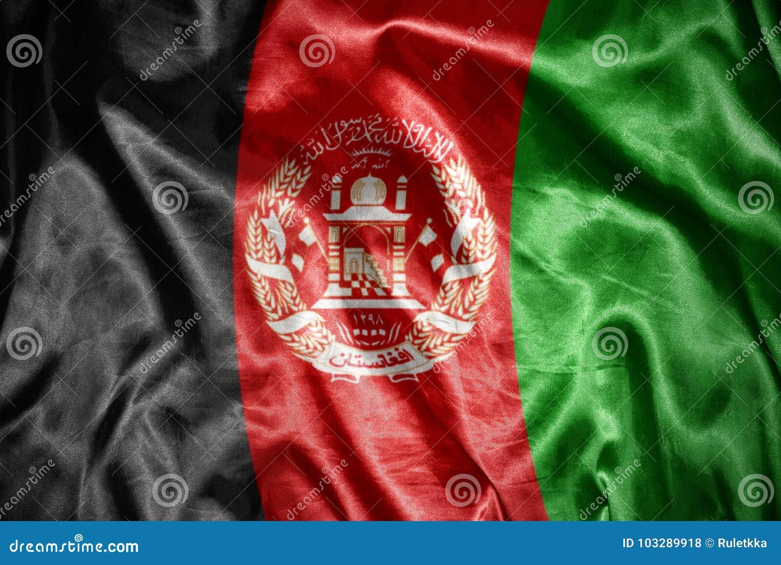 Olśniewająca afgańczyk flaga