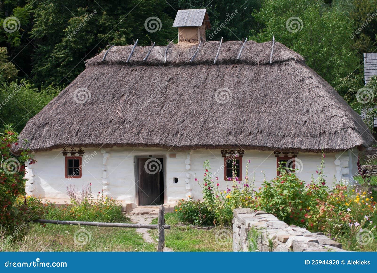 Old 19 Century House Stock Photo Image 25944820