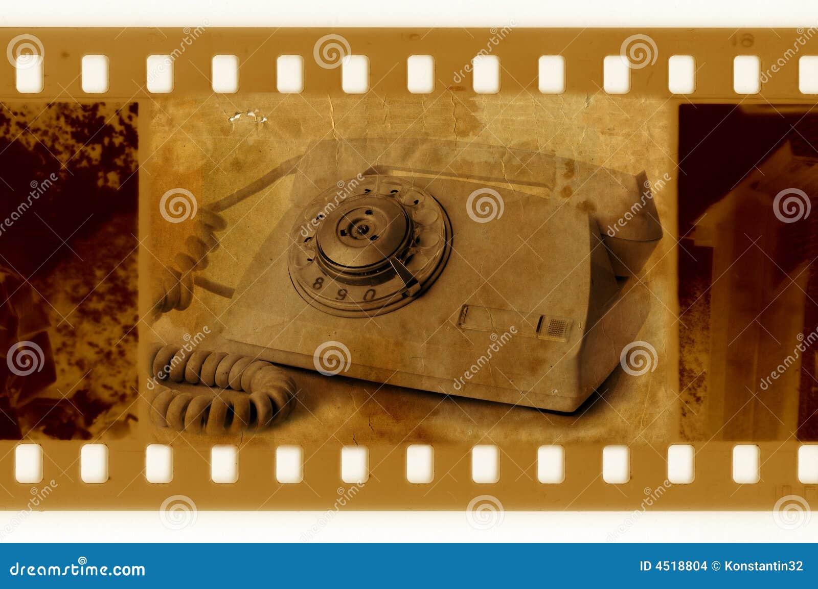 Old 35mm frame photo