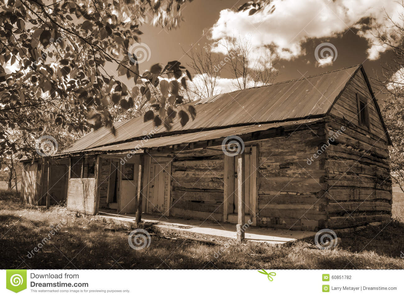 Superb img of Old log cabin located in the Blue Ridge Mountains of Virginia USA. with #86AA21 color and 1300x957 pixels