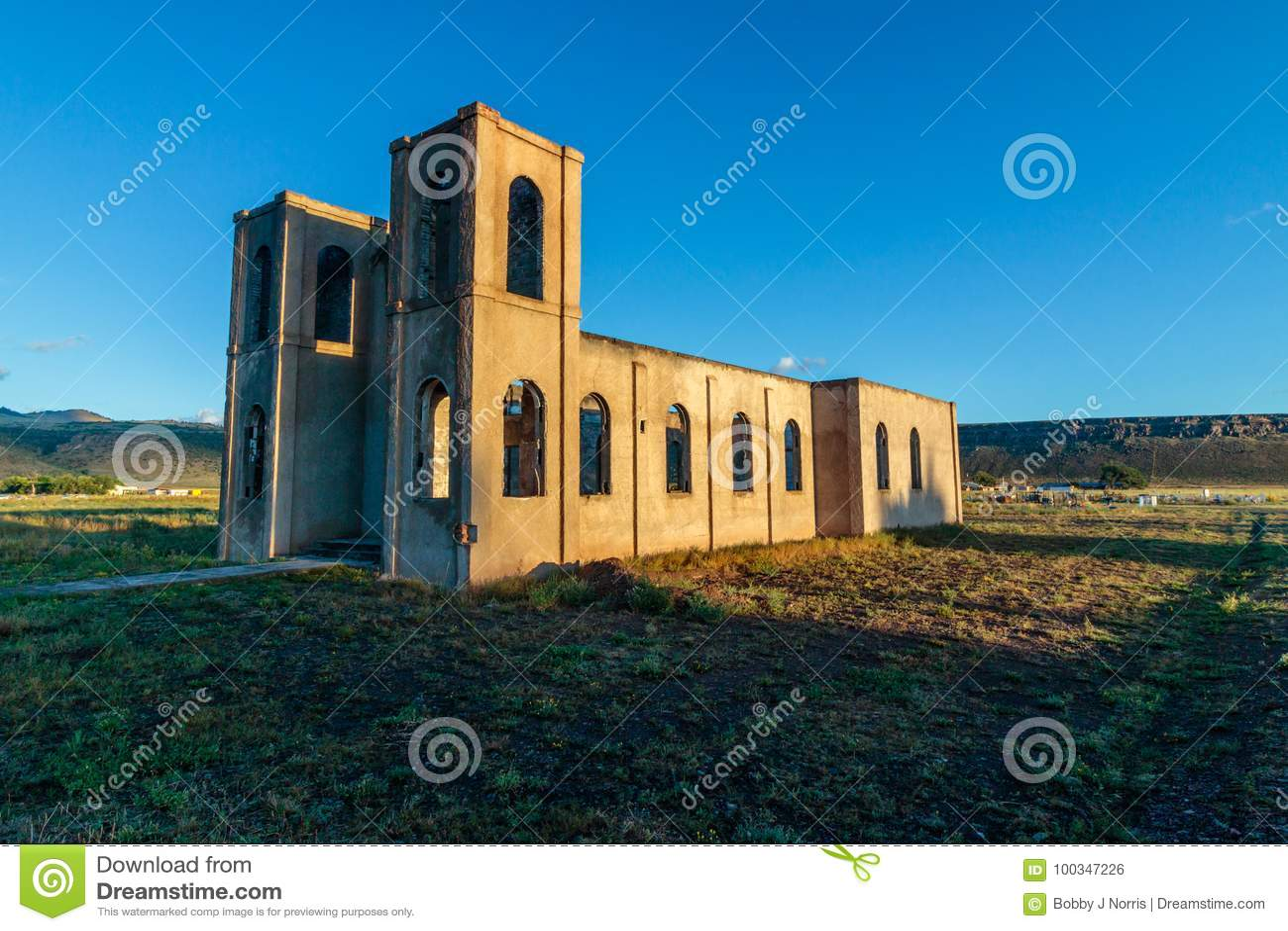 Old Church in Antonito Colorado