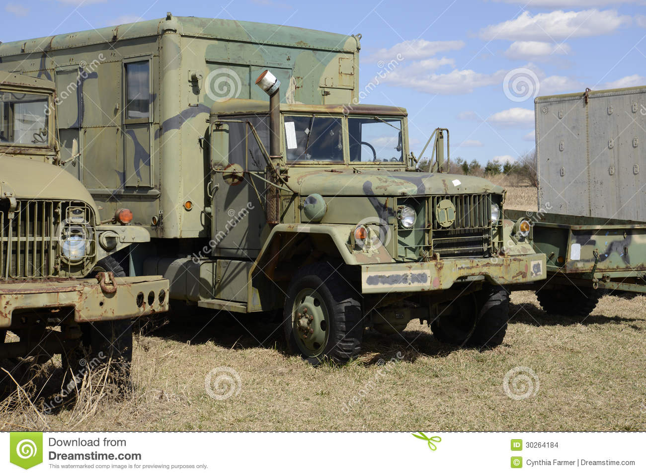 Old Army Truck Stock Images - Image: 30264184