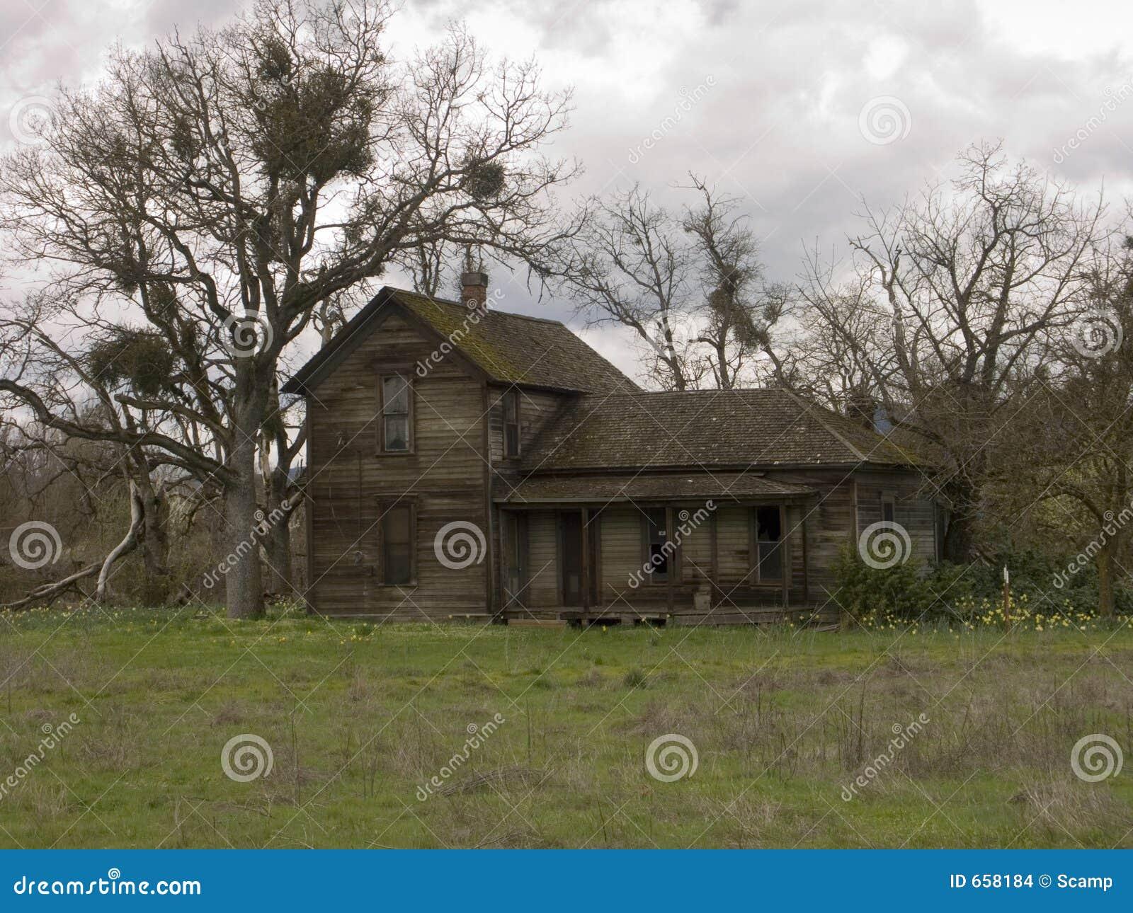 Old Abandoned Farm House Stock Images Image 658184