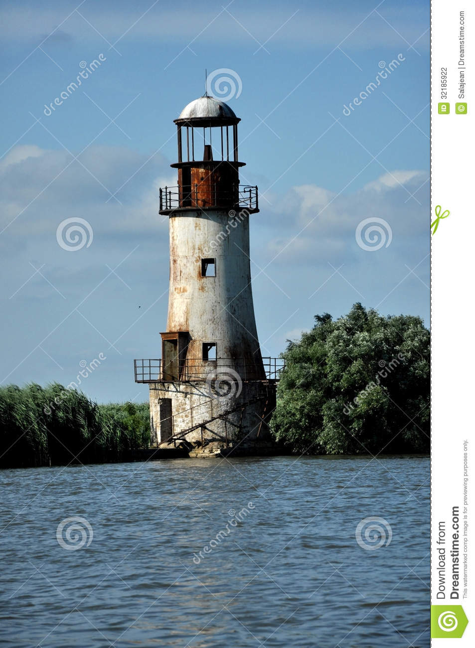 The Old Tarot Card Judgement Stock Vector Art More: The Old, Abandoned Lighthouse Of Sulina, Danube Delta