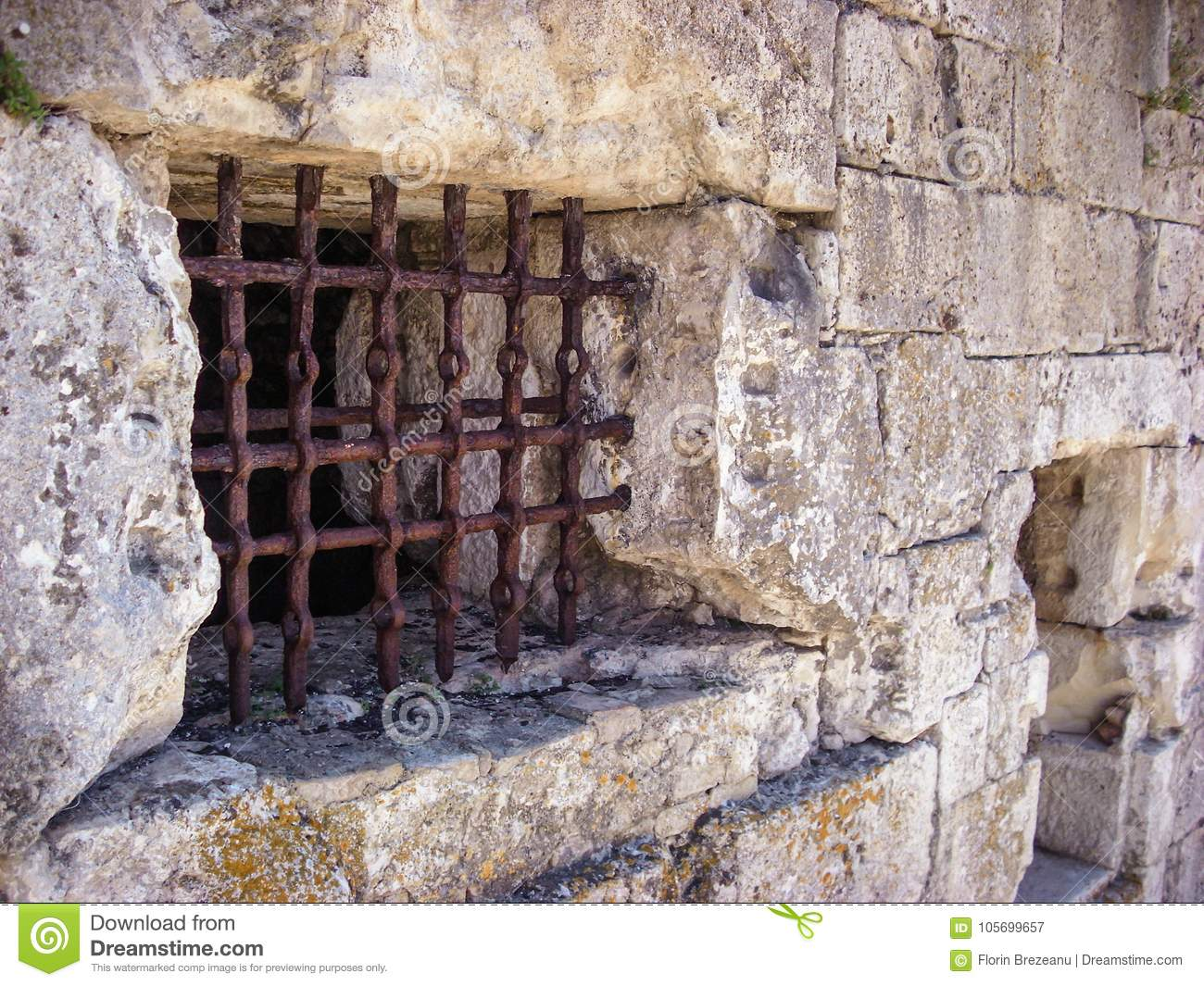 Rusty Jail Bars Stock Images - 425 Photos