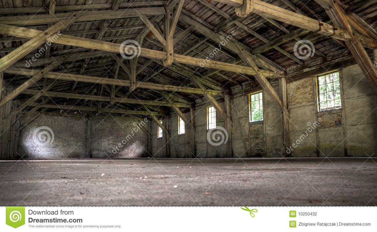 Old Abandoned Warehouse Stock Photo Image Of Abandoned