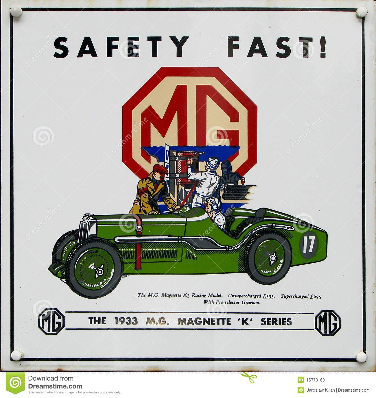 Old Advert Mg Editorial Stock Image Image Of Motoring