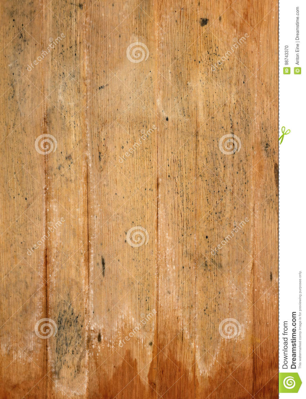 Old Aged Brown Wooden Planks Background Texture Stock Photo - Image