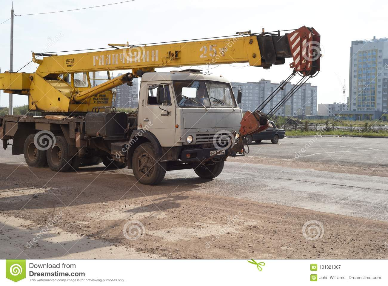 How to collect KAMAZ 49
