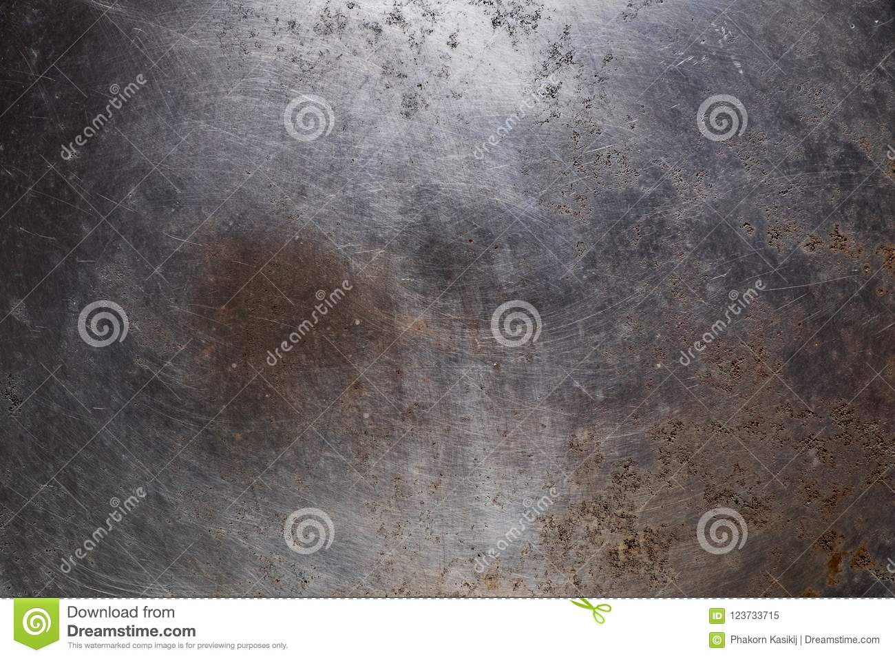 Old Aged Weathered Rusty Metal Surface Texture Background