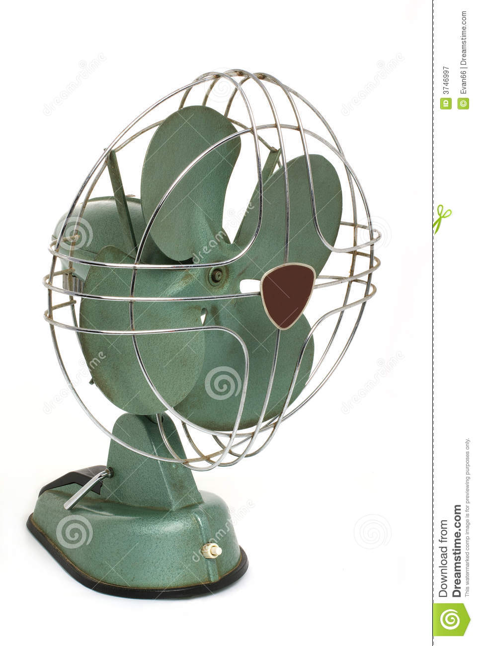 Old Air Fan Royalty Free Stock Photography