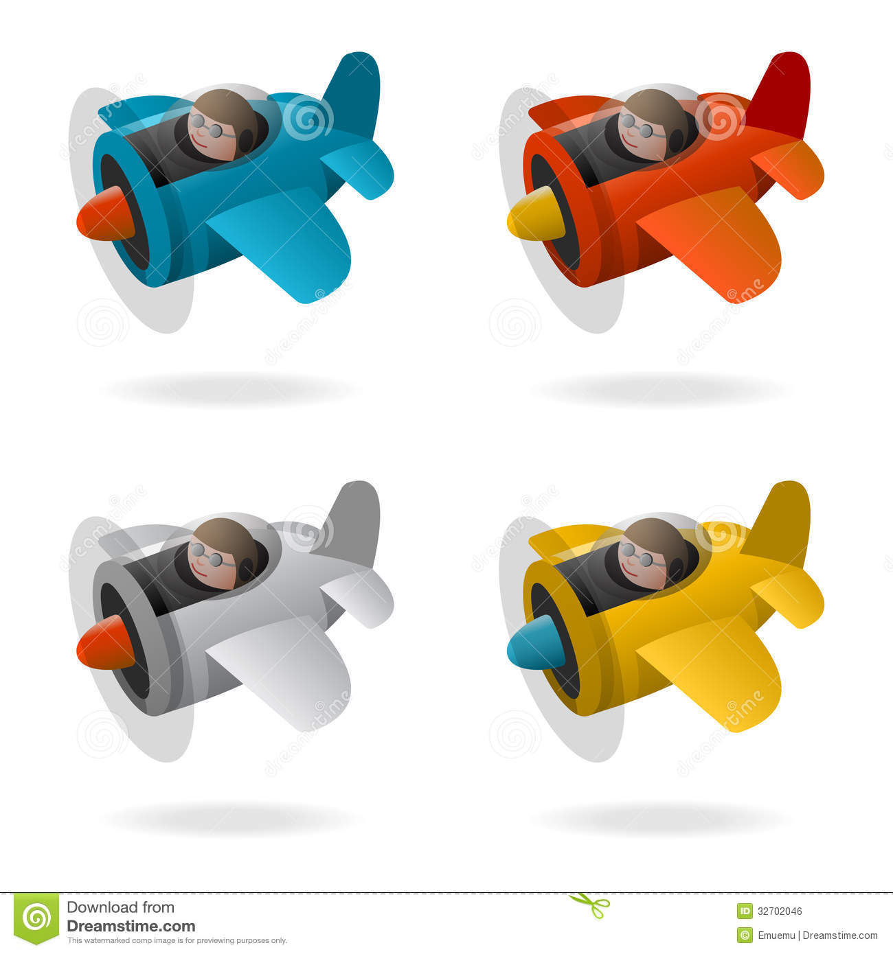 Clipart Airplane Crash