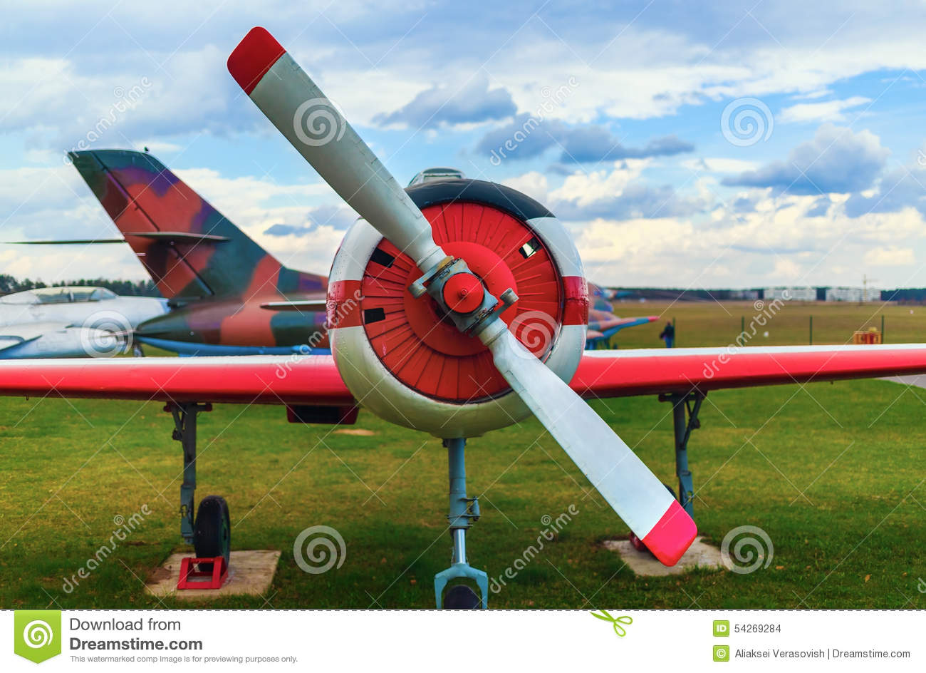 Old airplanes stock photo. Image of cockpit, plane, design ...