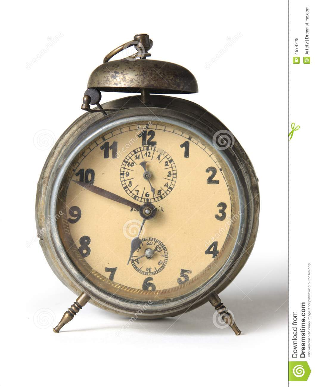 Old Alarm-clock Royalty Free Stock Images - Image: 4574229