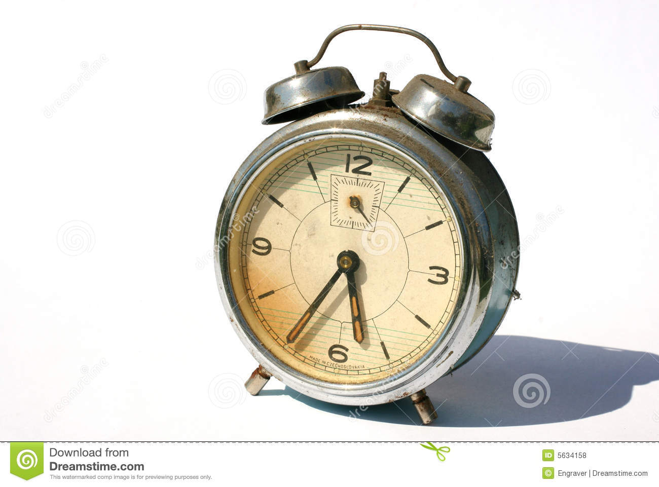 Old Alarm-clock Royalty Free Stock Photos - Image: 5634158
