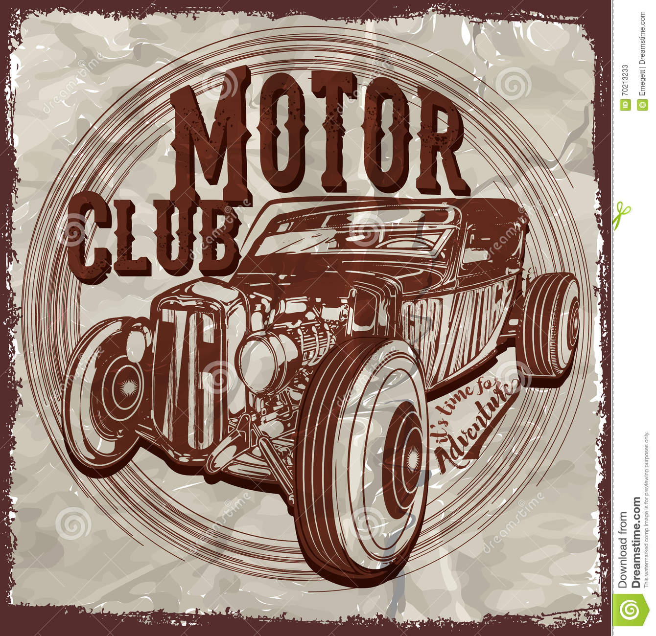 Old american car vintage classic retro man t shirt graphic for Classic american decorating style